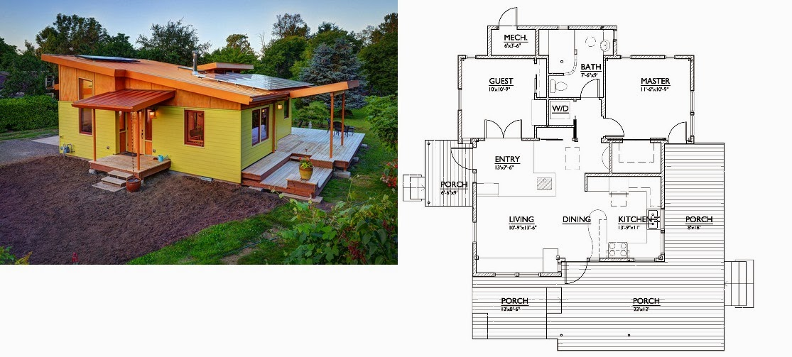 Planos De Casas Modernas Plano Casa 137 M2 - Plano-casas-modernas