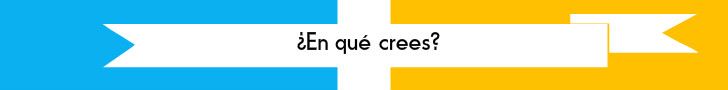 #TuCambioEsAhora ¿En qué crees?