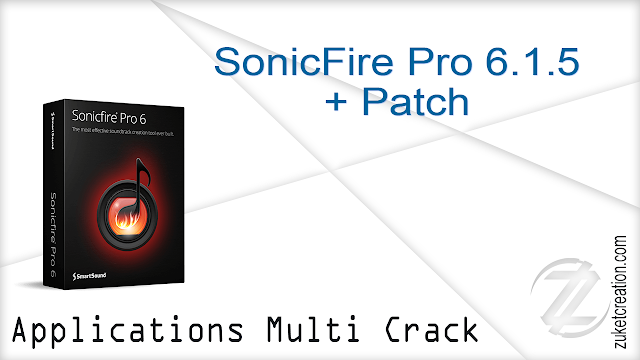 SonicFire Pro 6.1.5 + Patch