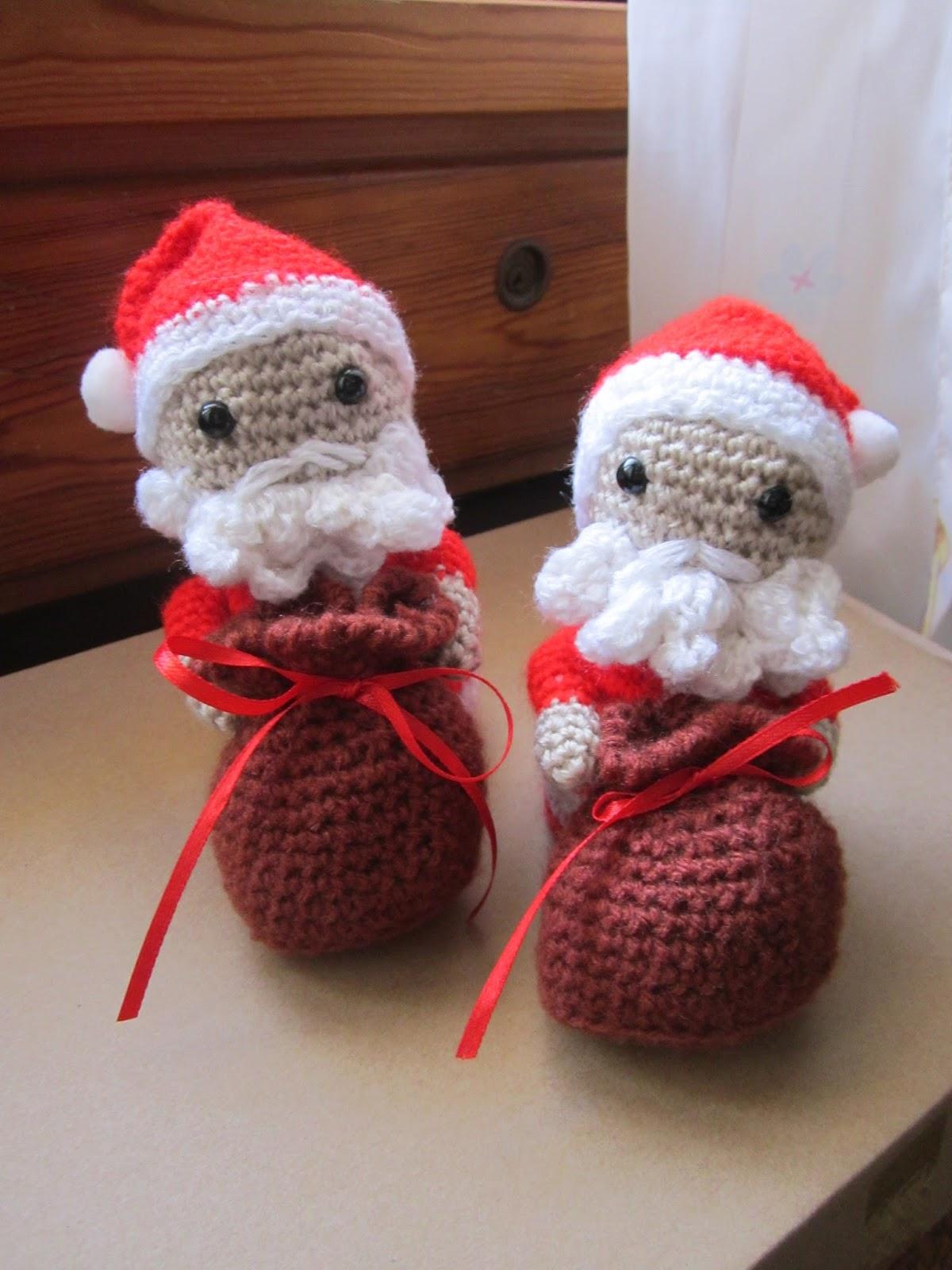 Babbo Natale, elfo e renna amigurumi: schema base - YouTube | 1600x1200
