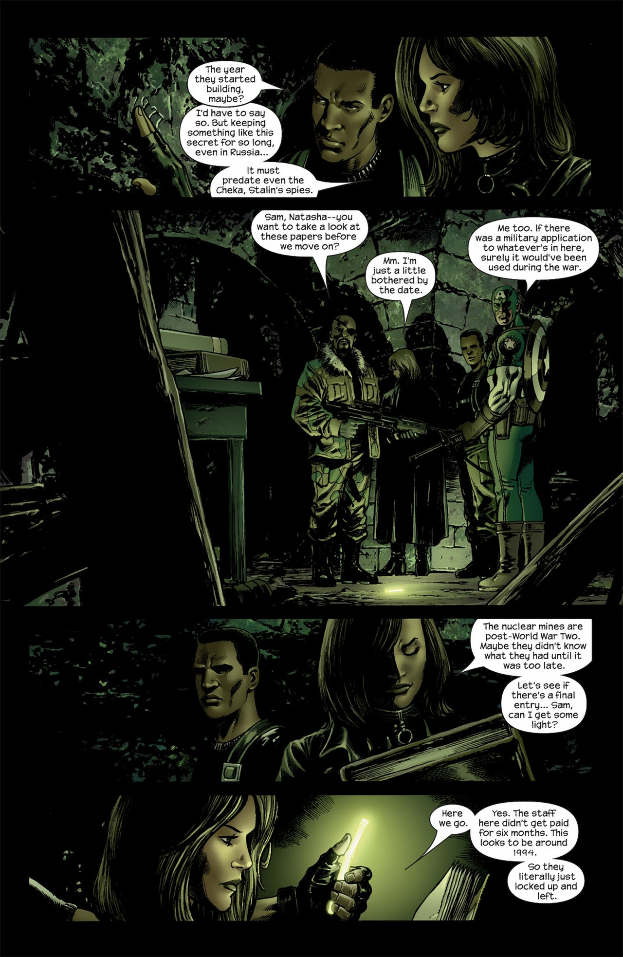 Read online Ultimate Nightmare comic -  Issue #3 - 3