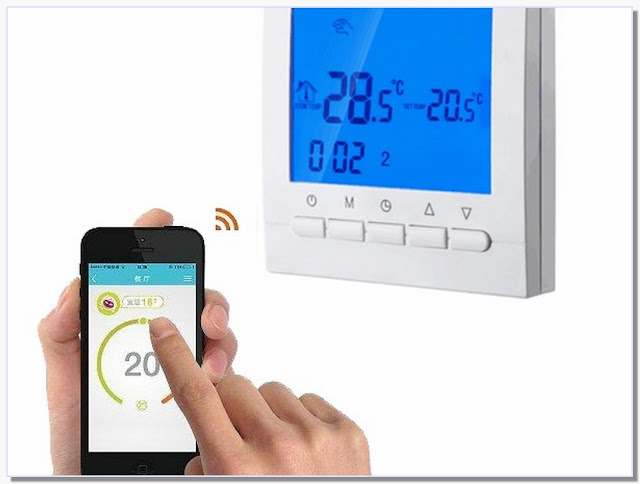 Iphone Controlled Heating Thermostat