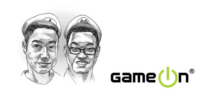 GameOn founders - Neo & Ian