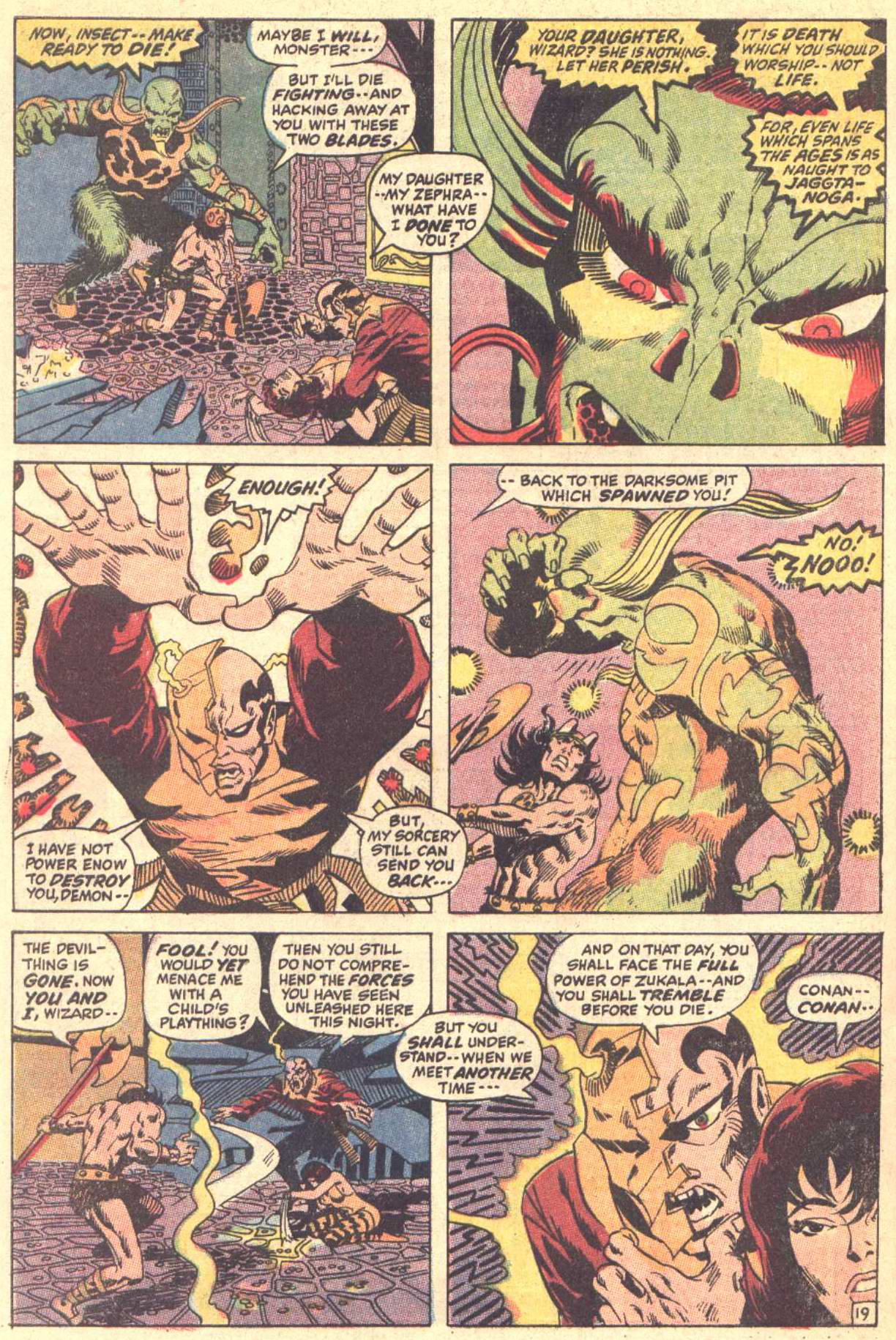Conan the Barbarian (1970) Issue #5 #17 - English 20