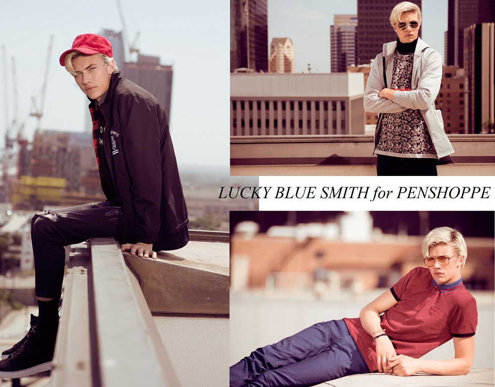 Penshoppe Pre-Holiday Collection 2016, Lucky Blue Smith for Penshoppe