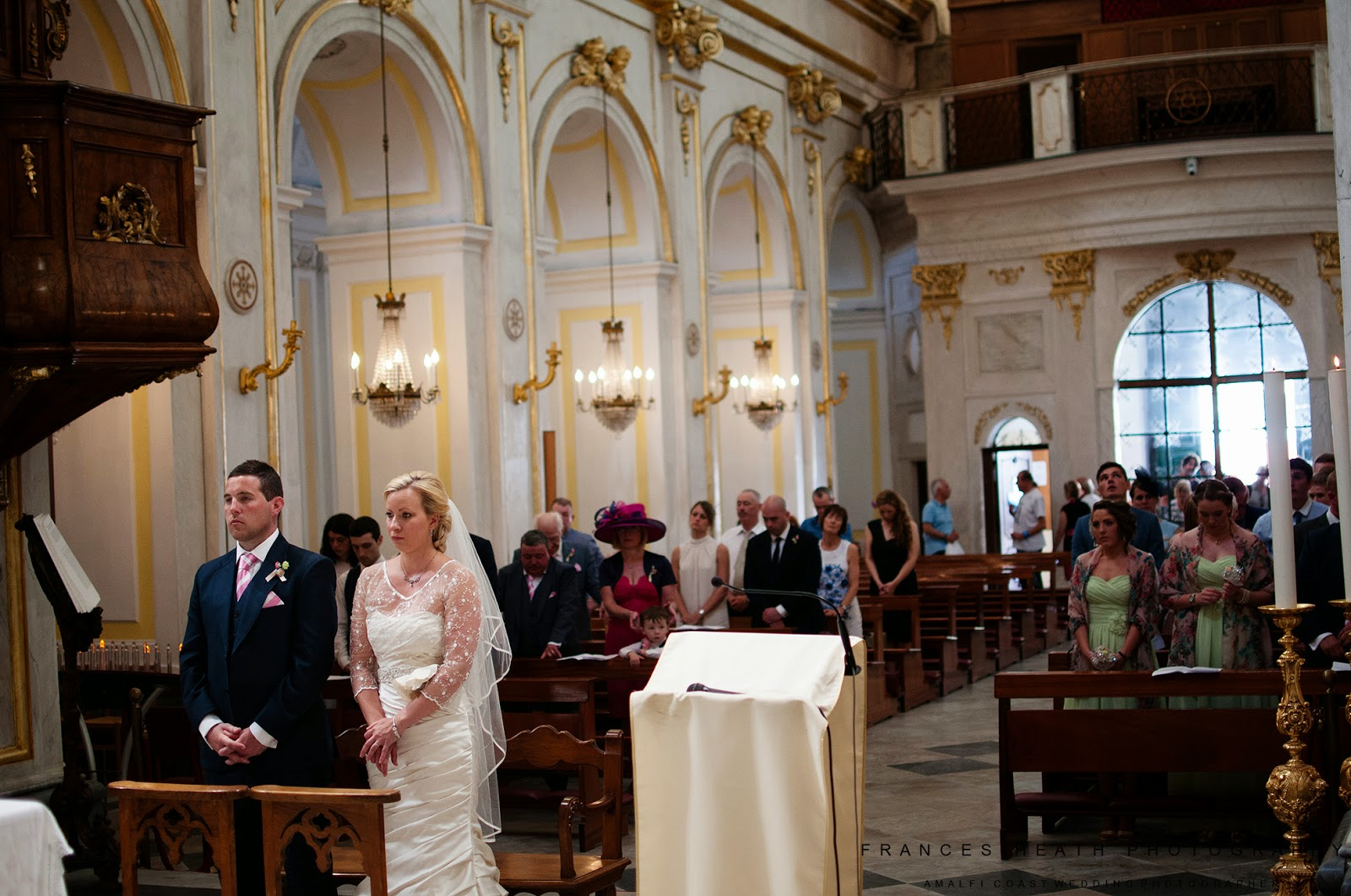 Chruch wedding at Santa Maria Assunta in Positano