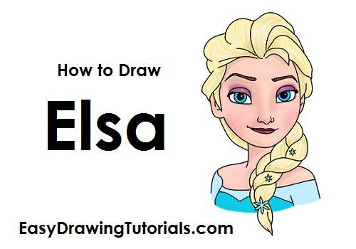 How To Draw Frozen Characters Step By Step Easy