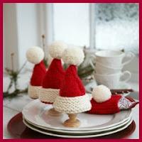 Servilleteros navideños