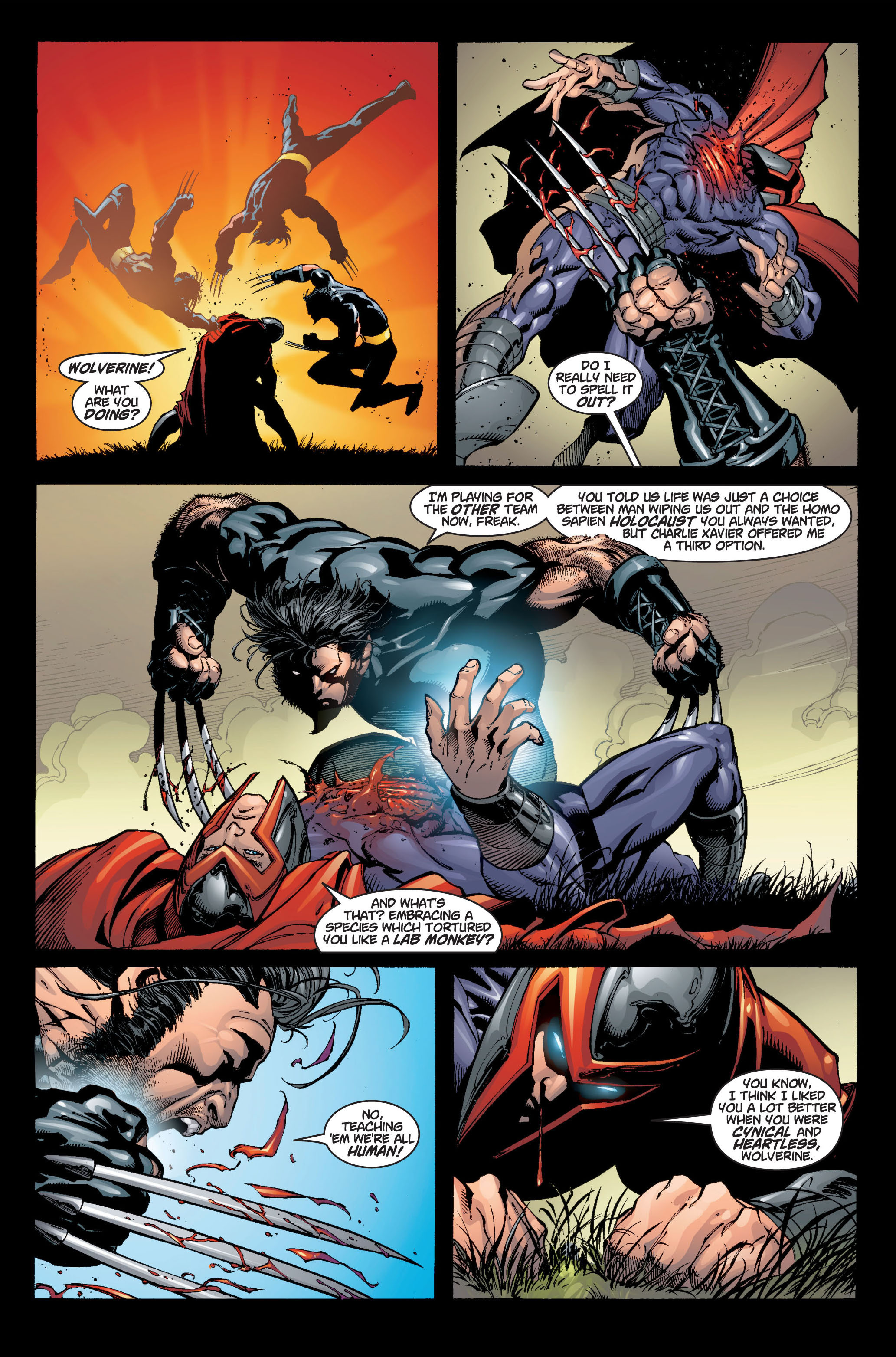 Read online Ultimate X-Men comic -  Issue #6 - 15