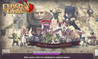 Clash of Clans MOD FHx V7 Private Server Indonesia