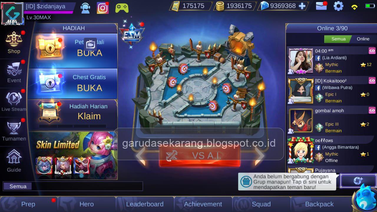download mobile legend mod full skin