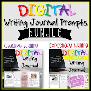 DEAL! Digital Writing Journals Bundle