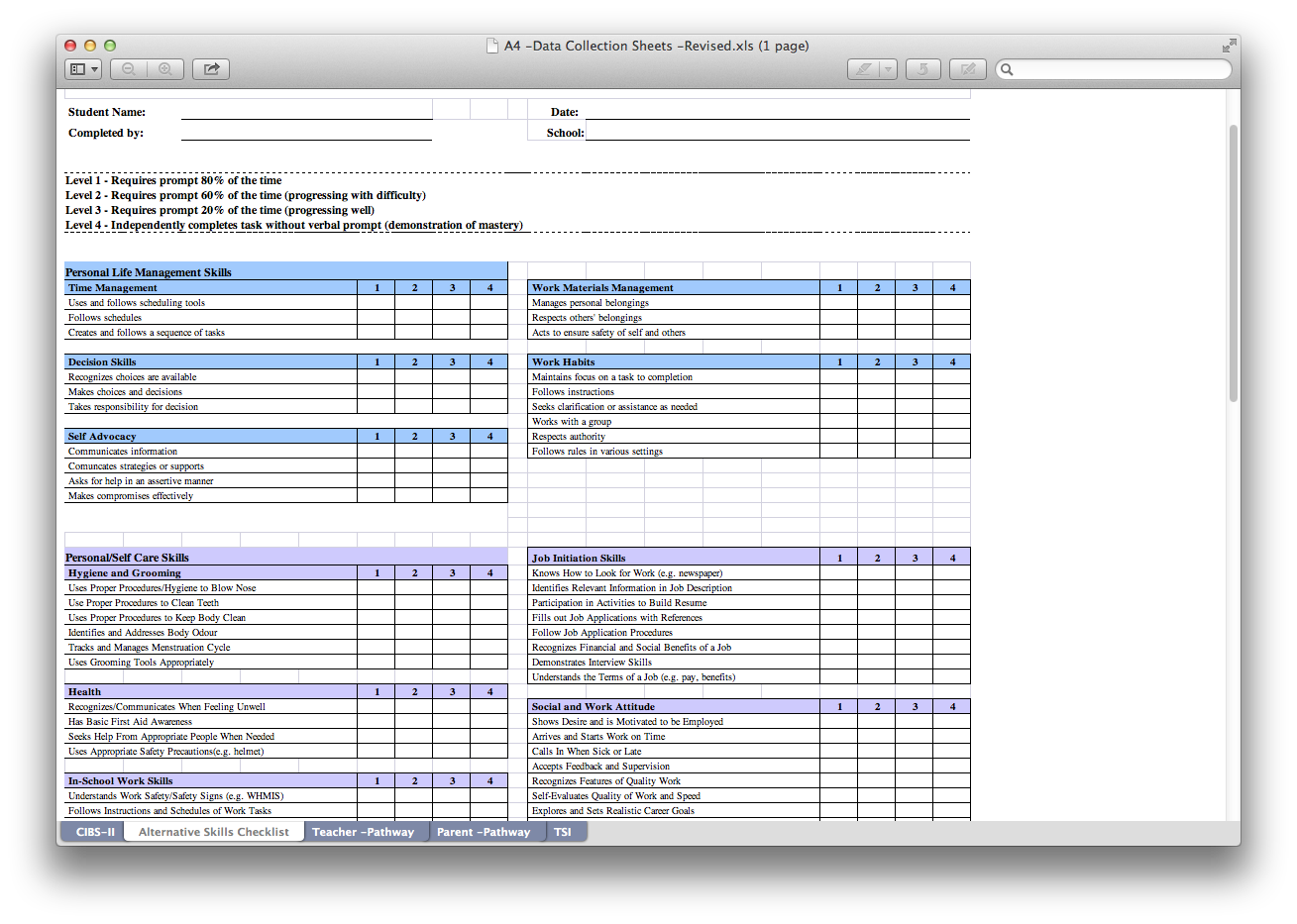 The A4 Idea Place: Smart Goals, IEPs and Tracking Sheets   Oh My!