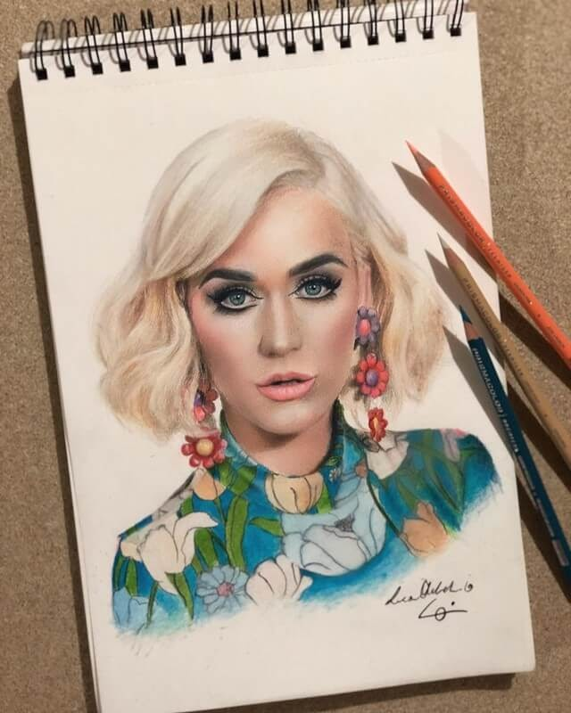 10-Katy-Perry-Luca-Orlando-Celebrity-Drawn-with-Colored-Pencils-www-designstack-co