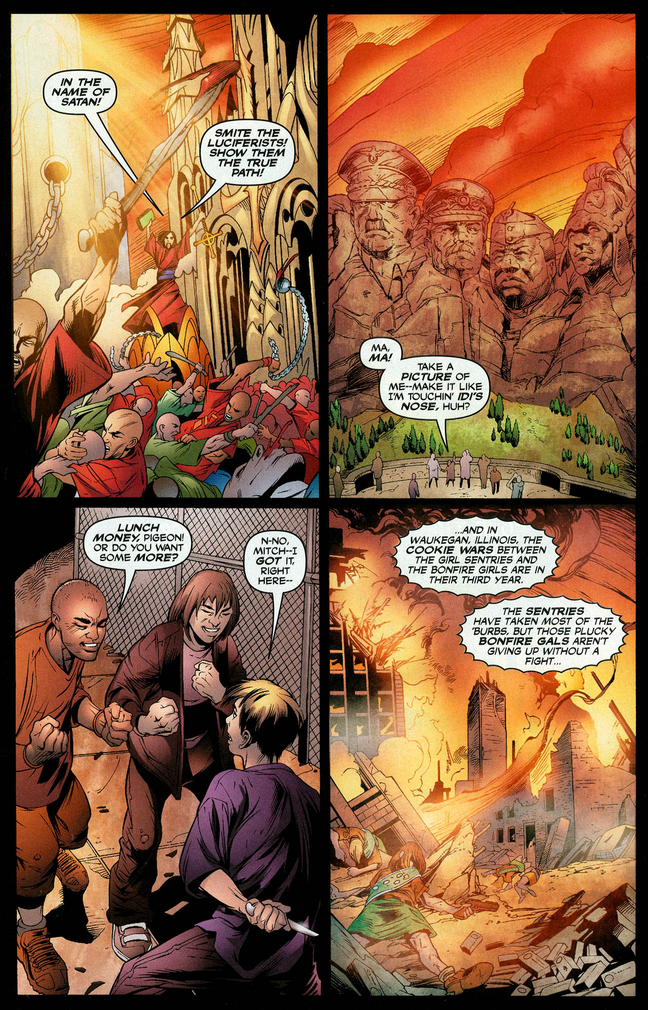 Read online Trinity (2008) comic -  Issue #11 - 13