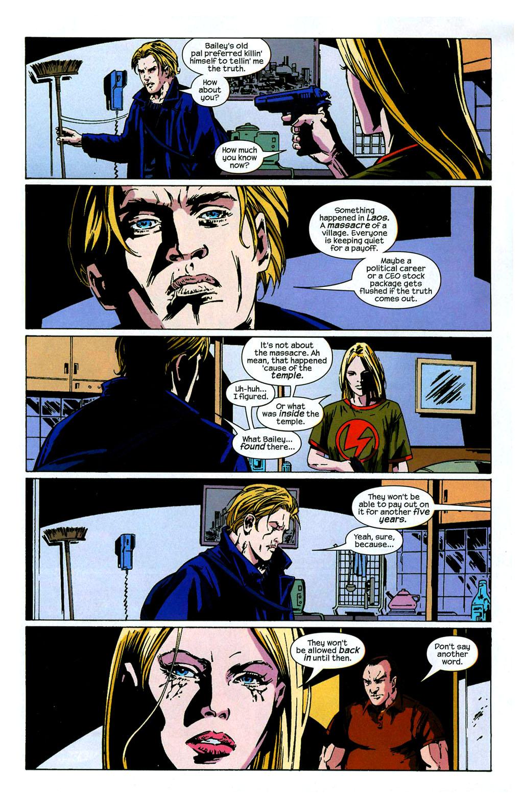 Hawkeye (2003) Issue #4 #4 - English 8