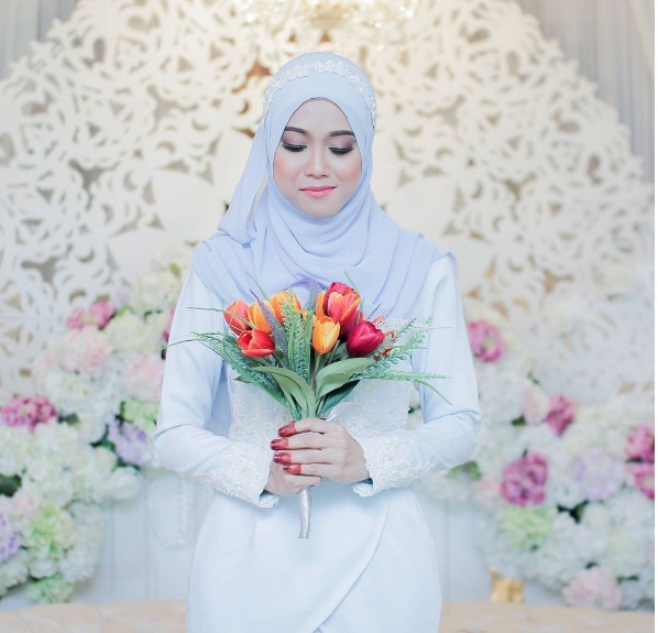 inspirasi hijab pengantin malaysia