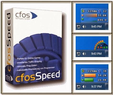 برنامج تسريع الانترنت Cfosspeed احدث اصدار فولدر برامج