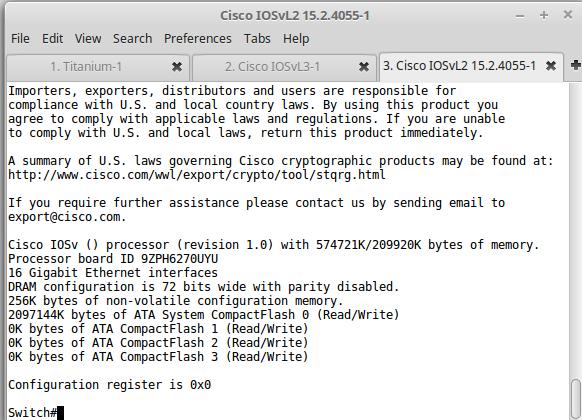 My Lab Notes: Cisco vIOS L2 and L3 qemu settings