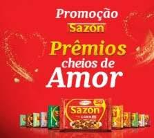Nova Promoção Sazón 2019 Prêmios Cheios de Amor