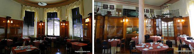 Salão do café da manhã do Hotel Astoria - Coimbra, Portugal
