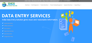 India Data Entry Solution - IDES