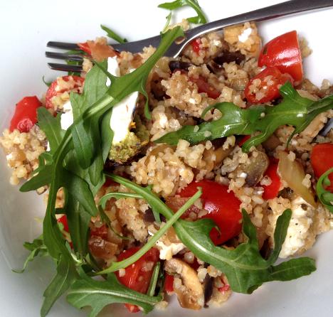 Bulgur Salat_My Kitchen Logbook by Marlene Grünzweil