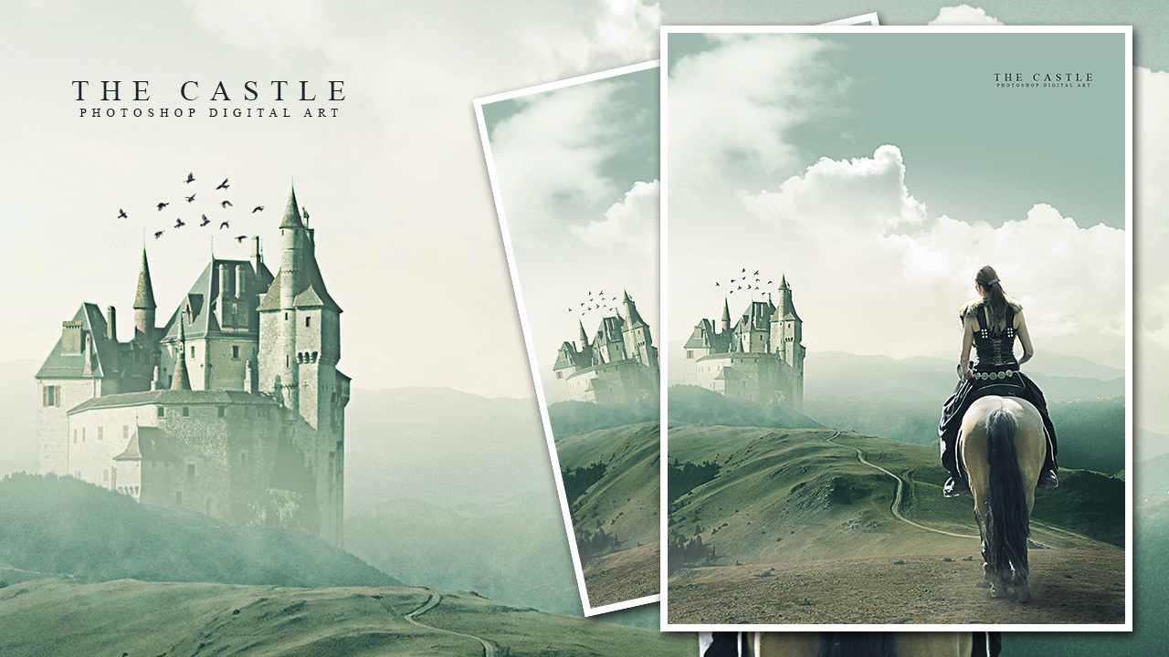 Photoshop Manipulation Tutorial - The Castle