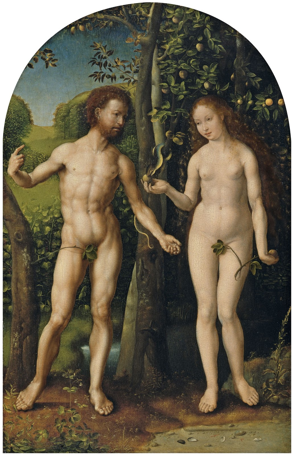 Adam and eve in garden of eden studying genesis chapter 2 5