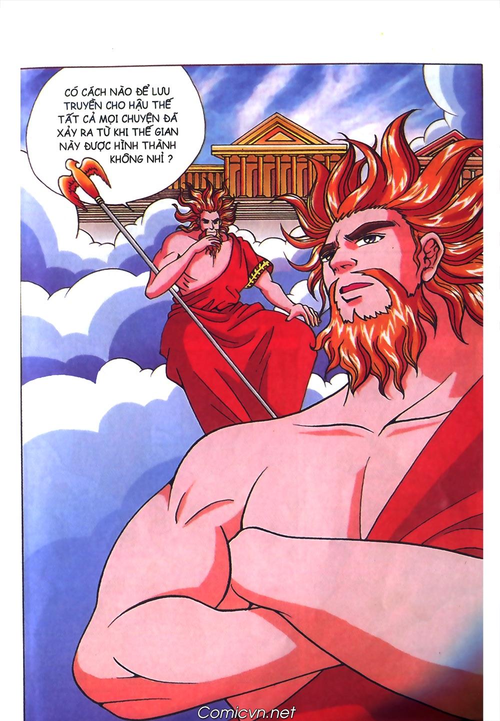 Thần Thoại Hy Lạp Màu - Chapter 40: Chuyện tình buồn của chàng Ô phê - Pic 5