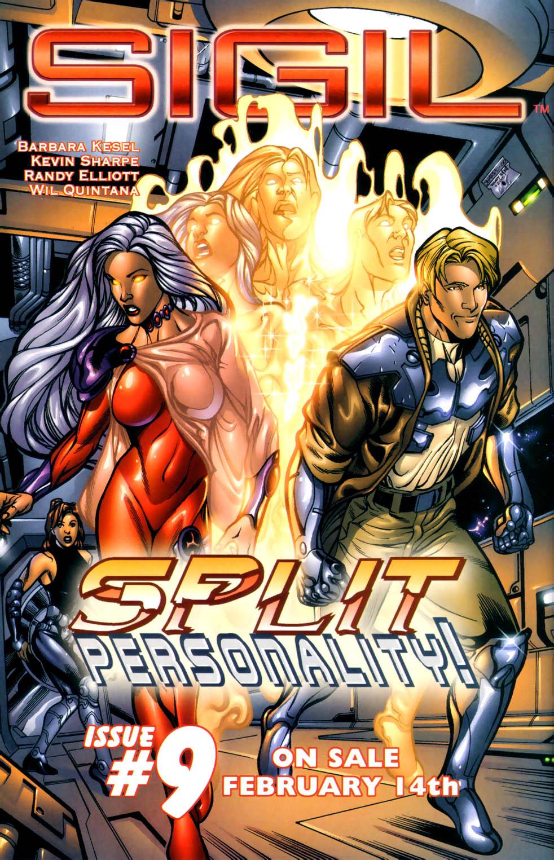 Read online Sigil (2000) comic -  Issue #8 - 22