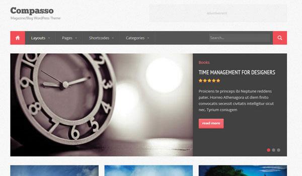 Compasso Magazine Theme