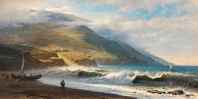 """Ф.А. Васильев """"Горы и море"""", 1872 г."""