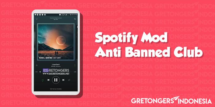 Download Spotify Mod Apk Terbaru Anti Banned Club