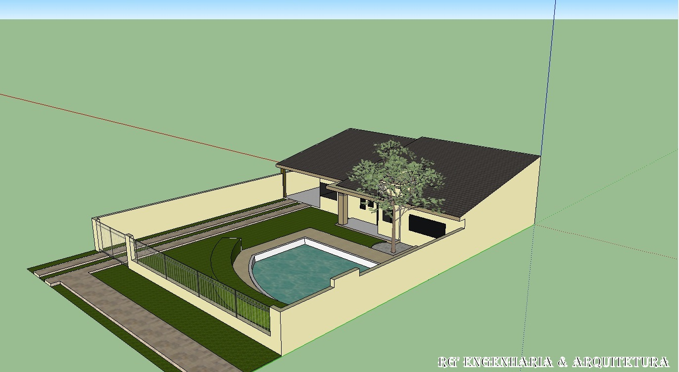 Plantas de casas meia agua com 2 quartos for Modelos de casa para construccion
