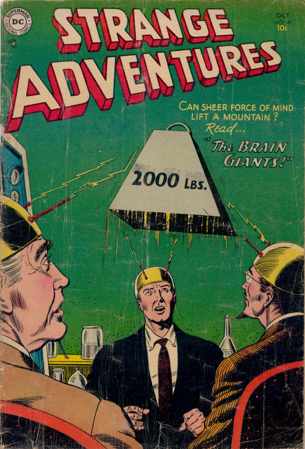 Strange Adventures (1950) issue 49 - Page 1
