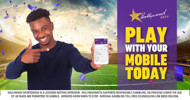 Hollywoodbets - Play with your Mobile Today - Sports Betting - Mobile Betting - Thumbs Up