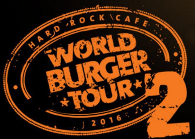 #ThisIsHardRock, Hard Rock, Hard Rock World Burger Tour, World Burger Tour Review, Aloha Burger, Atomic! Burger, Tango Salsa Burger, Greek Burger, Hard Rock Denver