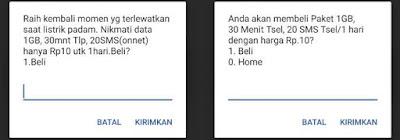 Paket Internet Telkomsel 1GB Rp10 Terbaru 2020