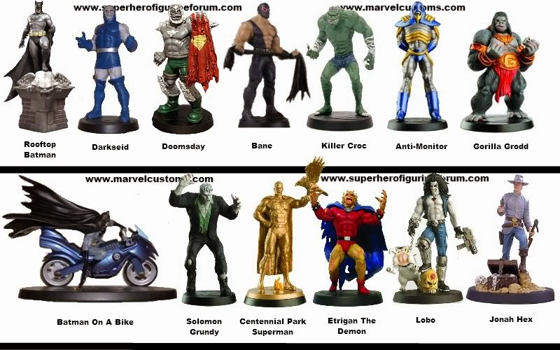 ... : Coleção de Miniaturas DC - Lista de Personagens: Série Especial