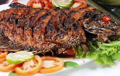 Resep Membuat Gurame Ikan Bakar Gurih Enak
