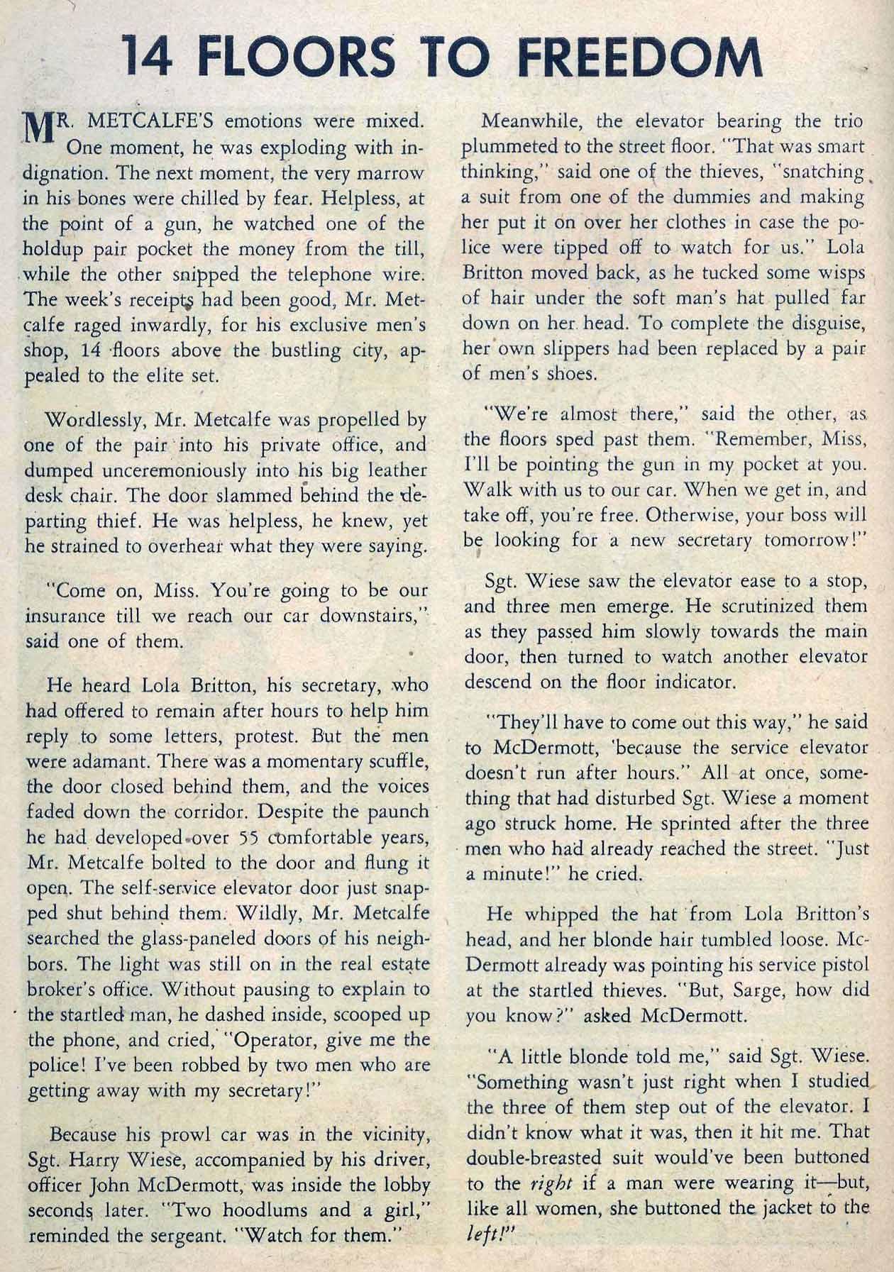 Read online Detective Comics (1937) comic -  Issue #262 - 26