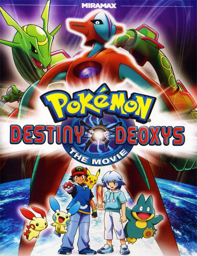Ver Pokémon 7: Destino Deoxys (2004) Online