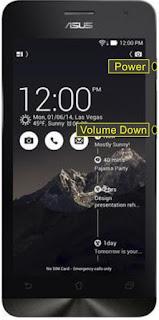 Cara Screenshot Asus Zenfone 5