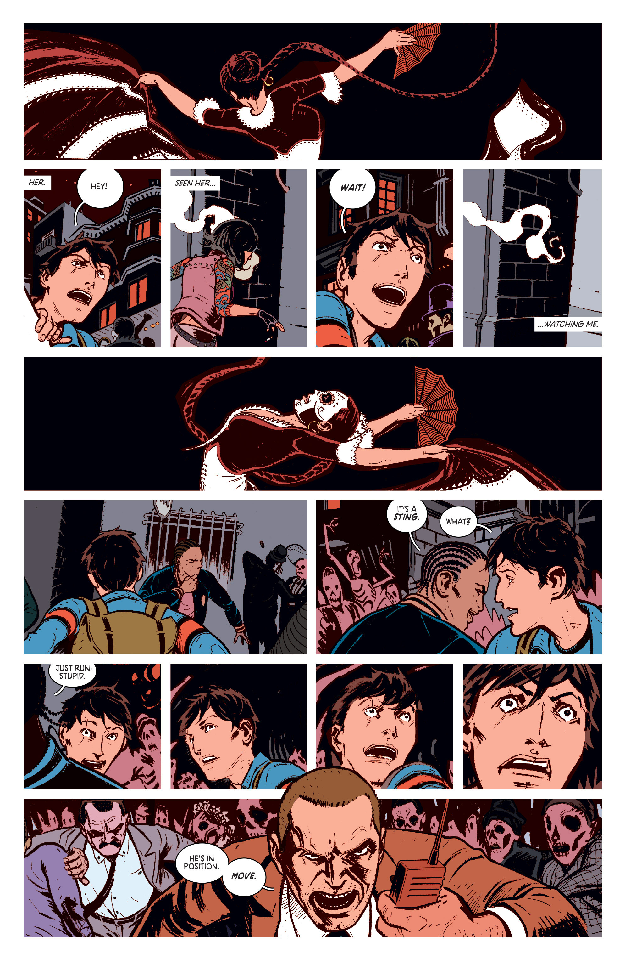 Read online Deadly Class comic -  Issue #1 - 12