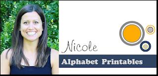Nicole Alphabet Printables Contributor