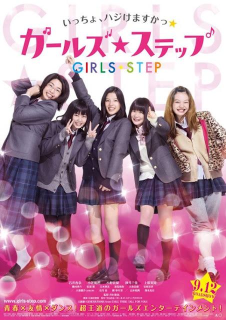 Sinopsis Girls Step / Garuzu Suteppu (2015) - Film Jepang