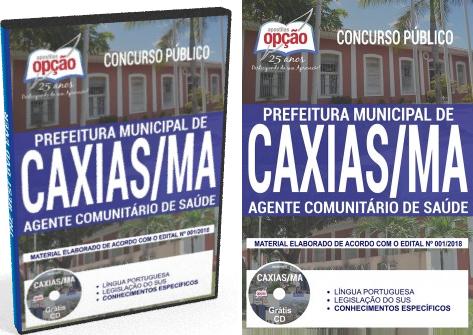 apostila para o concurso da prefeitura de caxias-maranhão 2018