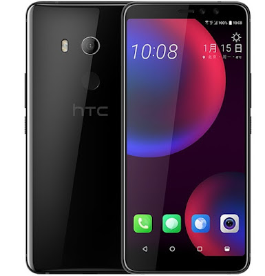 Black HTC U11 EYE