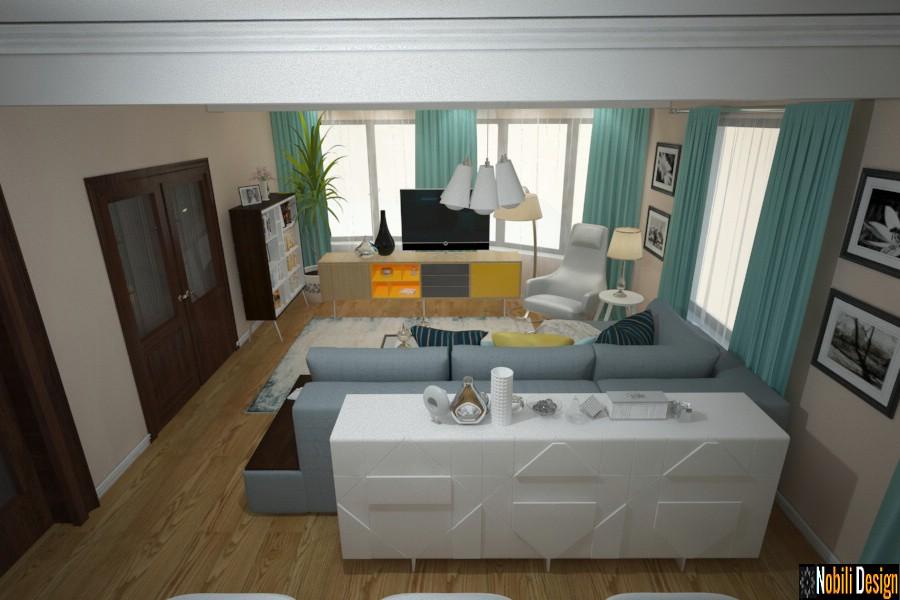 Design interior casa moderna in Bucuresti